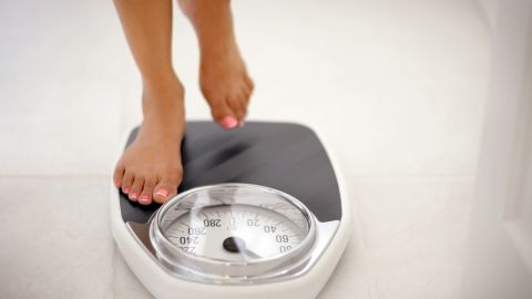 """<strong>Myth: Women gain 10 pounds over the winter.</strong><br /><br />Between comfort foods, dreary days and cozy blankets, it's not hard to imagine why women put on winter weight. But it turns out that the average woman gains only one or two pounds over the winter. <br /><br />Still, one Nutrition Reviews study shows that weight gain during the six-week holiday season accounts for 51% of annual gain. And, according to research published in the New England Journal of Medicine, most women don't shed that extra layer of insulation come springtime, so over the years, the weight can really add up. <br /><br /><a href=""""http://www.health.com/health/gallery/0,,20501331,00.html"""" target=""""_blank"""" target=""""_blank"""">Health.com: 16 ways to lose weight fast</a>"""