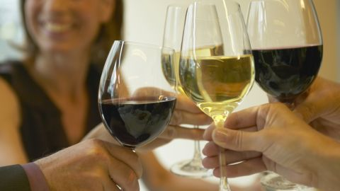 """<strong>Myth: Drinking alcohol warms you up.</strong><br /><br />Alcohol makes you feel toasty on the inside, but that's because it causes your blood to rush toward your rosy-red skin and away from your internal organs. That means your core body temperature actually drops post-sip, Vreeman says. What's more, alcohol impairs your body's ability to shiver and create extra heat. <br /><br /><a href=""""http://www.health.com/health/gallery/0,,20757335,00.html"""" target=""""_blank"""" target=""""_blank"""">Health.com: 7 ways to keep alcohol from ruining your diet </a><br /><br /><em>This article originally appeared on </em><a href=""""http://www.health.com/health/gallery/0,,20756061,00.html"""" target=""""_blank"""" target=""""_blank""""><em>Health.com</em></a><em>.</em>"""