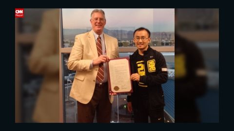 """On December 12 , Black received a commendation by Henderson, Nevada, Mayor Andy Hafen for his efforts. """"I'm proud to be relaying the Three Square Food Bank commitment that no one should go hungry,"""" Black said."""