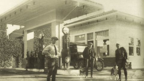 The building appealed to Red Truck Bakery owner Brian Noyes because it was centrally located in the heart of Warrenton. Even in the 1920s, the gas station was a place for locals to meet and socialize, he said.