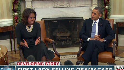tsr michelle obama selling obamacare_00001625.jpg