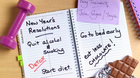 """This year, """"lose weight"""" isn't going to be your main goal, just a nice side benefit to being happy and healthy."""