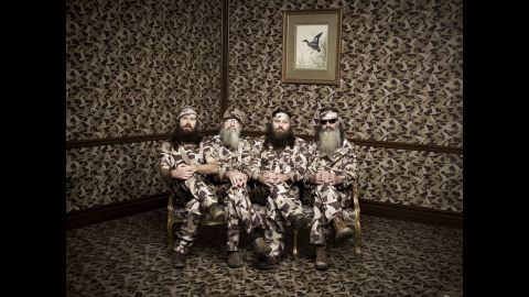 """Jase, Si, Willie and Phil Robertson star in the A&E television series """"Duck Dynasty."""" The popular reality show follows a Louisiana family that became rich through Duck Commander, a business making products for duck hunters."""