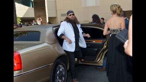 Willie attends the Academy of Country Music Awards in April 2013.