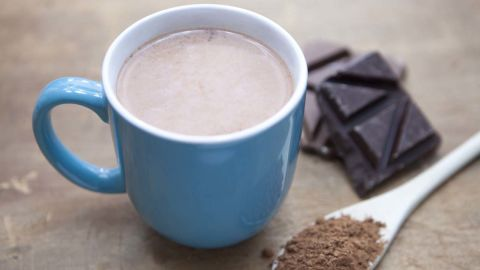 """Cocoa is packed with antioxidants, which reduce your levels of cortisol, a stress hormone that causes your body to cling to belly fat, says Tara Gidus, a nutritionist based in Winter Park, Florida. In fact, one Cornell University study found that the concentration of antioxidants in hot chocolate is up to five times greater than it is in black tea. <br /><br />Hot chocolate's combination of carbs and protein can also help your muscles recover faster from a tough workout, according to research in the International Journal of Sport Nutrition and Exercise Metabolism. Adding a dash of cinnamon boosts your treat's health benefits even more -- it contains compounds that keep insulin out of the blood stream and from storing fat, says Gidus. <br /><br /><a href=""""http://www.health.com/health/recipe/0,,10000000521786,00.html"""" target=""""_blank"""" target=""""_blank"""">Try this recipe: Mexican hot chocolate</a>"""