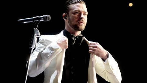 """Everyone remembers Janet Jackson's """"wardrobe malfunction"""" at the Super Bowl halftime show in 2004, but we bet you don't recall <a href=""""http://www.cnn.com/2004/SHOWBIZ/Music/02/08/timberlake.jackson/index.html?iref=newssearch"""" target=""""_blank"""">Timberlake's meek apology</a> following the uproar. """"Listen, I know it's been a rough week for everybody,"""" he said. """"What occurred was unintentional and completely regrettable, and I apologize if you guys were offended."""" Timberlake had to give that apology in order to participate in that year's Grammy Awards airing on CBS; Jackson declined to attend the event and apologize."""