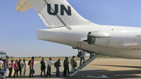 The United Nations relocates noncritical staff from Juba to Entebbe, Uganda, on Sunday, December 22.