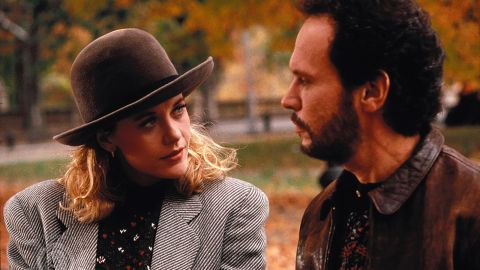 """<strong>""""When Harry Met Sally"""" </strong>The movie that gave us what has to be one of the most quoted movie lines of all time -- say it with us: <em>'I'll have what she's having' </em>-- began as a seed of a story from director Rob Reiner. """"I'd known (screenwriter) Nora (Ephron), and I'd pitched this idea about the dance people go through to get together after they've both gotten out of long-term relationships and they become friends,"""" Reiner says in """"The Movies."""" If you don't already know how that dance ends, make a movie date with this comedy immediately. <strong>Where to watch: </strong>Amazon Prime Video (rent/buy); Google Play (rent/buy); iTunes (rent/buy)"""