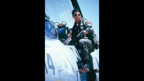 """<strong>""""Top Gun""""</strong> -- This fighter-jet action movie made Tom Cruise a global superstar while personifying the hawkish politics of the '80s."""