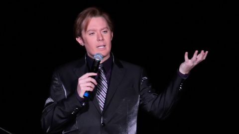 """Singer Clay Aiken of """"American Idol"""" fame announced on Wednesday, February 5, 2014, that he'll seek <a href=""""http://politicalticker.blogs.cnn.com/2014/02/05/clay-aiken-launches-bid-for-congress/"""">the Democratic nomination to challenge Republican Rep. Renee Ellmers</a> in North Carolina's 2nd Congressional District. Here, Aiken performs in Atlantic City, New Jersey, in December 2012. Here are other celebrities who have thrown their hats in the political ring:"""