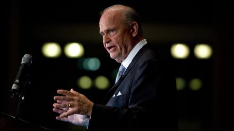 """Actor Fred Thompson, known for his stint on """"Law & Order,"""" was a U.S. senator from Tennessee from 1994 to 2003. The Republican made an unsuccessful bid for the presidency in 2008."""