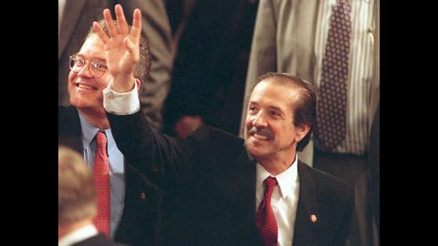 After Sonny and Cher fame, singer Sonny Bono became mayor of Palm Springs, California, He was elected as a U.S. congressman from California's 44 District in 1994. His political career was cut short by his death in a 1998 skiing accident.