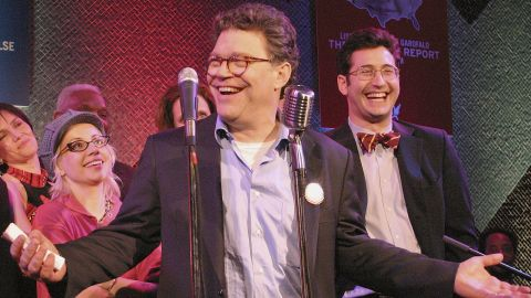 """Former comedian Al Franken, one of the original writers on """"Saturday Night Live,"""" won a narrow race in 2008 to become a U.S. senator from Minnesota. The Democrat is running for re-election in 2014."""