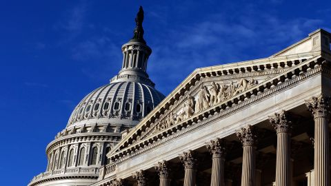 The U.S. Capitol is shown September 30, 2013 in Washington, DC.