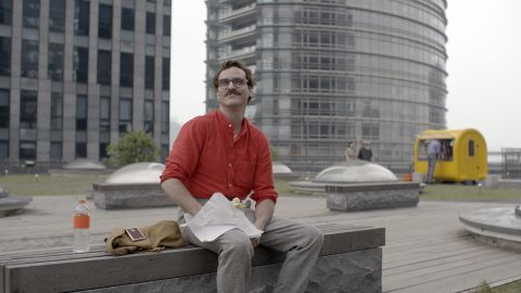 """<strong>Best original screenplay nominees: </strong>Spike Jonze for """"Her"""" (actor Joaquin Phoenix pictured), Eric Warren Singer and David O. Russell for """"American Hustle,"""" Woody Allen for """"Blue Jasmine,"""" Craig Borten and Melisa Wallack for """"Dallas Buyers Club"""" and Bob Nelson for """"Nebraska"""""""