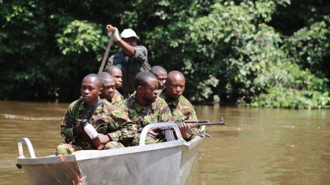 Many of the guards trying to prevent poaching in the Republic of Congo used to be the ones hunting the elephants. The unit's successes haven't made them any friends.