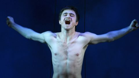 """Daniel Radcliffe spent so much time naked on the sets of films and productions, he had to ask the producers of his Brit drama """"A Young Doctor's Notebook"""" to let him keep some clothes on. """"I think there was a discussion about possible nudity for one scene,"""" Radcliffe recalled to <a href=""""http://www.independent.co.uk/arts-entertainment/films/news/after-getting-naked-for-three-films-daniel-radcliffe-says-no-thanks-to-more-nudity-8822375.html"""" target=""""_blank"""" target=""""_blank"""">The Independent</a>, """"and I think my comment was, 'I got naked in three films last year; please can I not?' """""""