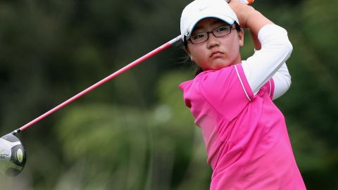 Even before she had become a teenager, South Korea-born Ko was a force in amateur tournaments in New Zealand -- here taking part in an event in 2009.