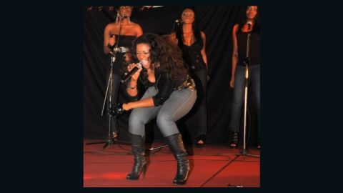 Jalade-Ekeinde also has a successful singing career, motivated by her work as an activist.