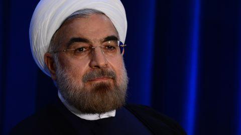 Iranian President Hassan Rouhani on September 26, 2013.