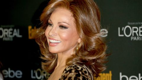 """About a decade ago, actress Raquel Welch announced her Latina roots, saying, """"It's long overdue."""" Her father was from Bolivia."""