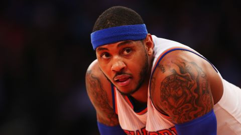 Once named as one of the country's most influential Hispanics by Hispanic Business Magazine, basketball star Carmelo Anthony says many of his fans don't realize that he's of Puerto Rican descent.