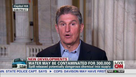 Lead intv full Senator Joe Manchin West Virginia chemical spill_00051712.jpg
