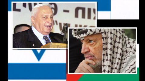 pkg ariel sharon arafat relationship_00030111.jpg