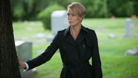 """<strong>Best actress in a TV series, drama: </strong>Robin Wright, """"House of Cards"""""""