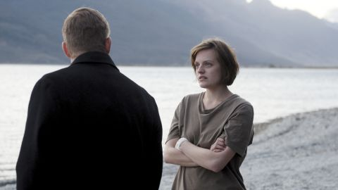 """<strong>Best actress in a </strong><strong>miniseries or TV film: </strong>Elisabeth Moss, """"Top of the Lake"""""""