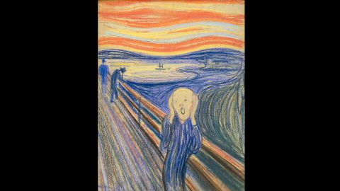 """Munch suffered from anxiety, which he poured into his paintings such as """"The Scream."""""""