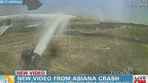 Asiana airlines crash fire fighter's helmet cam Earlystart _00005626.jpg