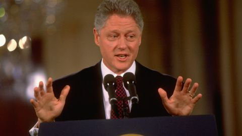 """Barely one day into his second term, President Bill Clinton acknowledged that """"mistakes were made"""" by his administration in inviting a banking regulator to policy meetings where high-profile bankers and a top fundraiser were present."""
