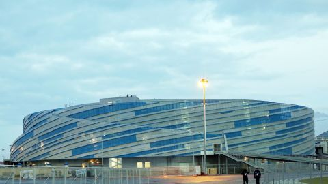 """The Shayba Arena, which will stage ice hockey games, holds 7,000 spectators. Shayba means puck in Russian and Russian fans are also renowned for shouting """"Shaybu"""" when supporting the national hockey teams at major championships"""