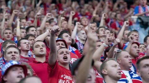 """Another Polish team, Wisla Krakow, has a gang of supporters called the """"Jude Gang"""" which is notorious for its anti-Semitic views. Its derby matches with Cracovia, a club founded by Jews in 1906, is often marred by racial abuse."""