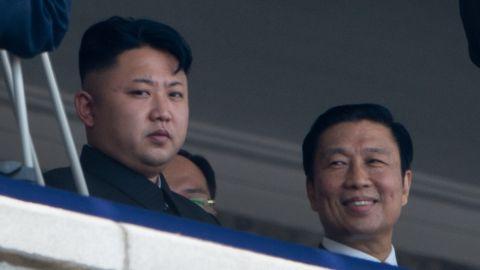 North Korean leader Kim Jong-Un in Pyongyang on July 27, 2013.