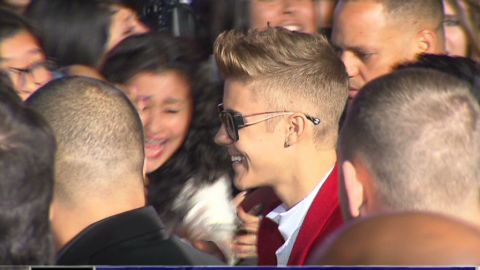 Justin Bieber's attorneys have met with L.A. County prosecutors to argue for a misdemeanor charge in the January incident.