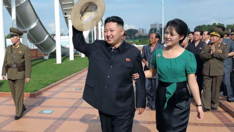 """<a href=""""http://www.cnn.com/2012/10/31/world/asia/north-korea-pregnancy-rumors/index.html"""">Pregnancy rumors swirled</a> when North Korean first lady Ri Sol Ju disappeared for months in 2012. Officials never announced whether the rumors were true. But former basketball star Dennis Rodman has called President <a href=""""http://edition.cnn.com/2013/09/09/world/asia/north-korea-rodman-kim-daughter/index.html"""">Kim Jong Un a """"good dad""""</a> and said he cradled the couple's baby girl last year."""