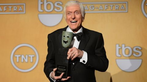 Actor Dick Van Dyke attends the19th Annual Screen Actors Guild Awards Press Room at The Shrine Auditorium on January 27, 2013.