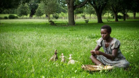 """<strong>Best supporting actress nominees:</strong> Lupita Nyong'o in """"12 Years a Slave"""" (pictured), Sally Hawkins in """"Blue Jasmine,"""" Jennifer Lawrence in """"American Hustle,"""" Julia Roberts in """"August: Osage County"""" and June Squibb in """"Nebraska"""""""