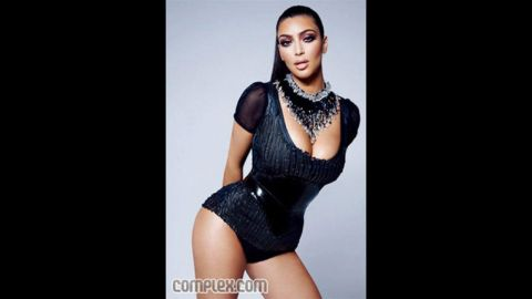 """In March 2009, Complex magazine accidentally featured a non-retouched image of Kim Kardashian for several hours before replacing with the retouched image. """"So what: I have a little cellulite,"""" Kardashian wrote in a blog entry entitled """"Yes, I am complex!"""" """"What curvy girl doesn't?!"""""""