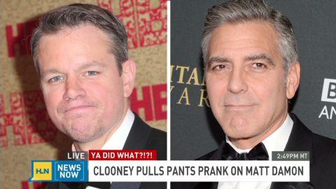 newsnow clooney pranks damon_00000503.jpg