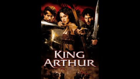 """A 2004 promotional poster for """"King Arthur"""" revealed a more well-endowed Keira Knightley than her typical boyish figure. Knightly has complained about her breasts being digitally altered for promotional movie shots and in reference to the """"King Arthur"""" poster told a magazine, """"those things certainly weren't mine."""""""