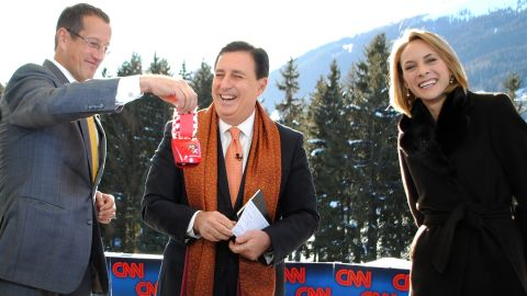 CNN's Richard Quest and Nina Dos Santos battle over whether this meeting of the elite can solve the problem of inequality. John Defterios acts as a referee.