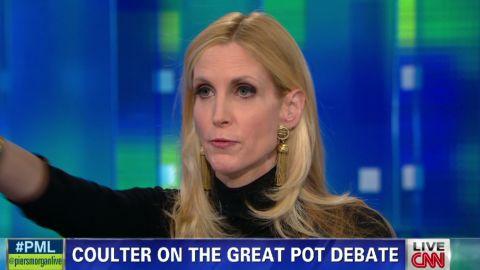 pmt ann coulter pot debate_00015616.jpg
