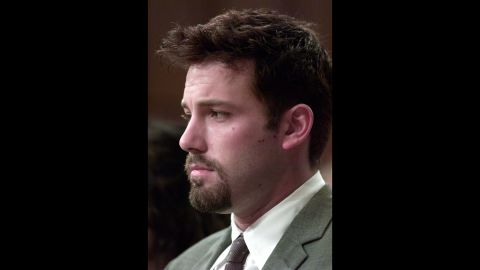 """Ben Affleck surprised friends when he checked into rehab for alcohol abuse in 2001, <a href=""""http://www.people.com/people/article/0,,622407,00.html"""" target=""""_blank"""" target=""""_blank"""">People magazine reported.</a>"""