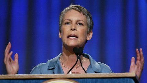 """Jamie Lee Curtis <a href=""""http://www.shape.com/celebrities/celebrity-photos/celebs-who-battled-addiction-through-healthy-habits?page=4"""" target=""""_blank"""" target=""""_blank"""">has reportedly said</a> she was once so addicted to prescription pain medicine that she stole some from a relative to help feed the addiction."""