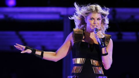"""In 2012, Black Eyed Peas singer Fergie <a href=""""http://www.youtube.com/watch?v=ZHsyOpWrFsk"""" target=""""_blank"""" target=""""_blank"""">told Oprah</a> that her drug use proceeded from ecstasy to crystal meth. She became so paranoid she thought the FBI and SWAT teams were following her before she sought treatment."""