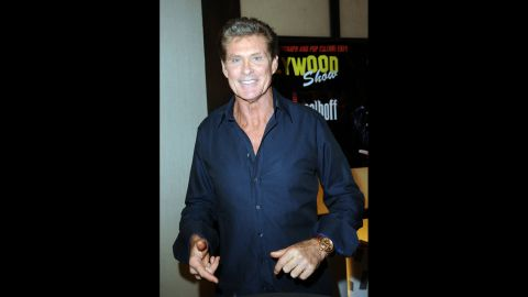 Actor David Hasselhoff was not allowed to board a British Airways flight once when he was drunk.