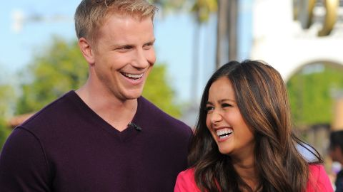 """Sean Lowe and Catherine Giudici met and fell in love on """"The Bachelor"""" season 17. The couple married in January 2014 -- on TV, of course."""